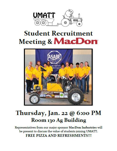UMATT Ag Student Recruitment Poster